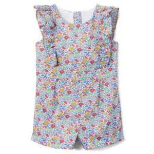 Janie and jack LIBERTY® FAVOURITE FLOWERS ROMPER